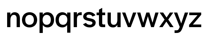 Halyard Display Regular Font LOWERCASE