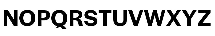 Halyard Display SemiBold Font UPPERCASE