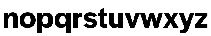 Halyard Display SemiBold Font LOWERCASE