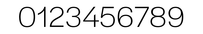 Halyard Micro Light Regular Font OTHER CHARS