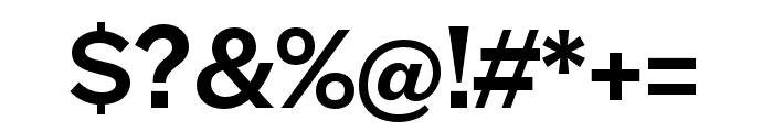 Halyard Micro Medium Font OTHER CHARS