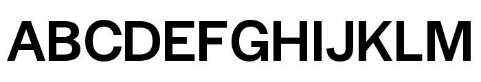 Halyard Micro Medium Font UPPERCASE