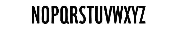 Hamilton Light Font UPPERCASE