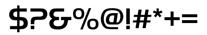 Handel Gothic Compress D Medium Font OTHER CHARS