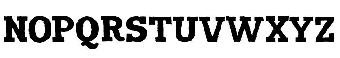Harvester Regular Font UPPERCASE