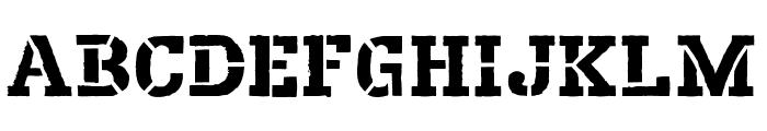 Harvester Regular Font LOWERCASE