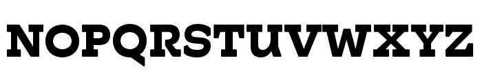Hatch Bold Font UPPERCASE