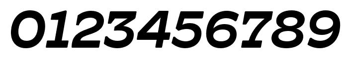 Hatch Medium Italic Font OTHER CHARS