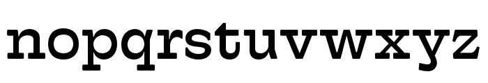 Hatch Regular Font LOWERCASE