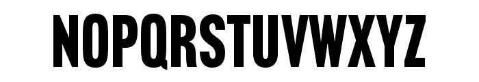 Headline Gothic ATF Round Font UPPERCASE