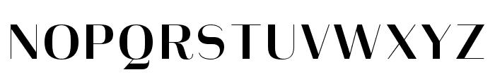 Heimat Display 10 Bold Font UPPERCASE