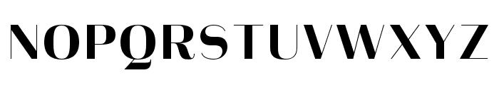Heimat Display 10 ExtraBold Font UPPERCASE