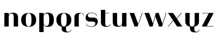 Heimat Display 10 ExtraBold Font LOWERCASE