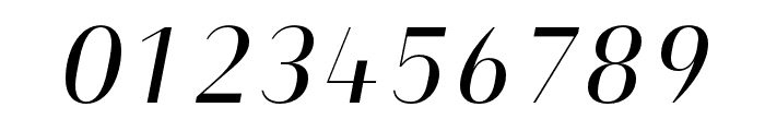 Heimat Display 10 Regular Italic Font OTHER CHARS