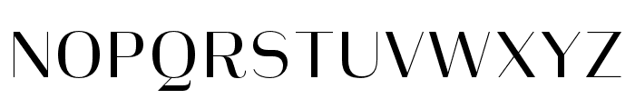 Heimat Display 10 Regular Font UPPERCASE