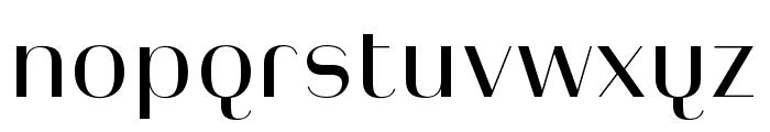 Heimat Display 10 Regular Font LOWERCASE