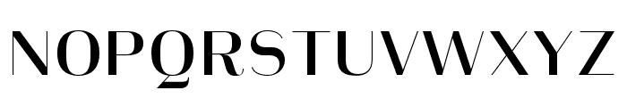 Heimat Display 10 SemiBold Font UPPERCASE