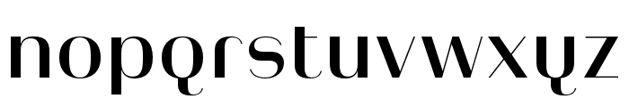 Heimat Display 10 SemiBold Font LOWERCASE