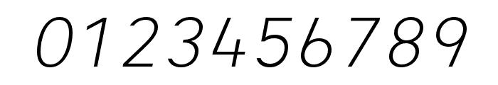 Heimat Mono Light Italic Font OTHER CHARS