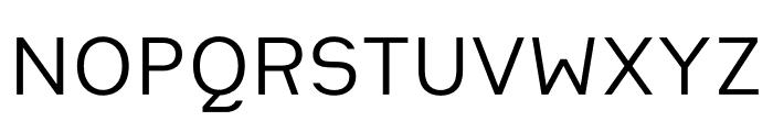 Heimat Sans Regular Font UPPERCASE