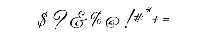 Hello My Love Pro Regular Font OTHER CHARS
