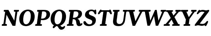 Henriette Bold Italic Font UPPERCASE