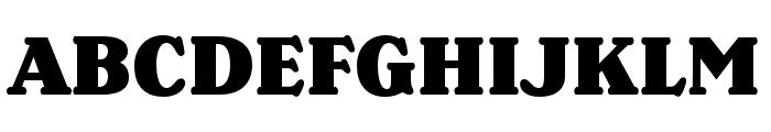 Henriette Compressed Black Font UPPERCASE