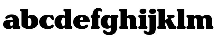 Henriette Compressed Black Font LOWERCASE