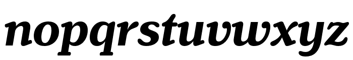 Henriette Compressed Bold Italic Font LOWERCASE
