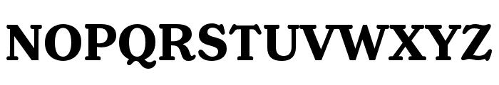 Henriette Compressed Bold Font UPPERCASE