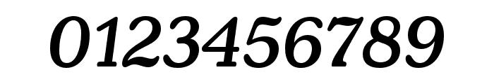 Henriette Condensed Medium Italic Font OTHER CHARS