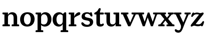 Henriette Condensed Medium Font LOWERCASE