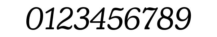Henriette Regular Italic Font OTHER CHARS