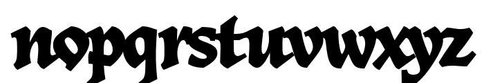 Herb Regular Font LOWERCASE