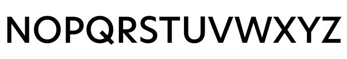 Hero New Medium Font UPPERCASE