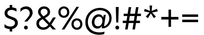 Hero New Regular Font OTHER CHARS