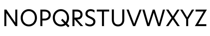 Hero New Regular Font UPPERCASE