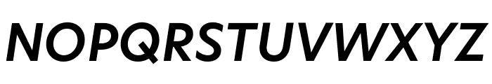 Hero New SemiBold Italic Font UPPERCASE