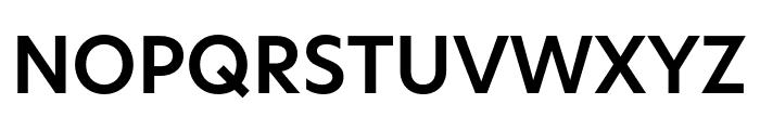 Hero New SemiBold Font UPPERCASE