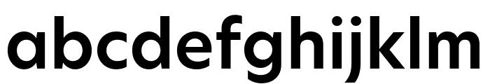 Hero New SemiBold Font LOWERCASE