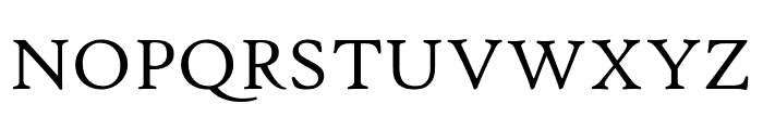 Hightower TextRoman Font UPPERCASE
