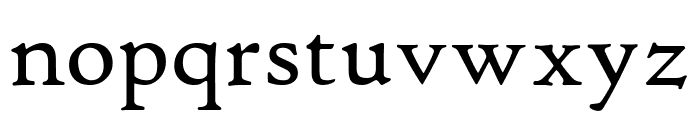 Hightower TextRoman Font LOWERCASE