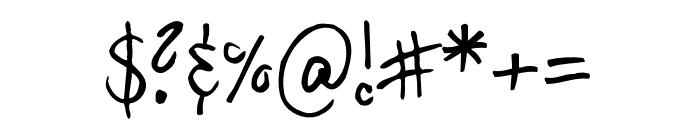 Hilde Sharp Regular Font OTHER CHARS