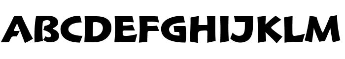 Hoffmann BlackTitling Font LOWERCASE