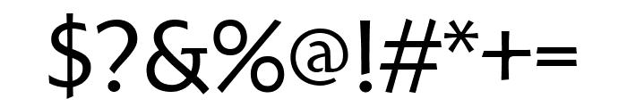 Hoffmann Book Font OTHER CHARS