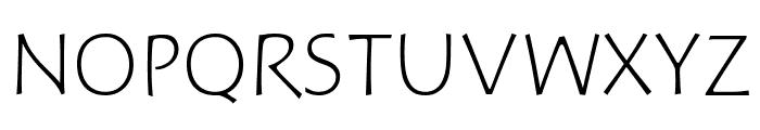 Hoffmann Light Font UPPERCASE