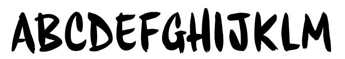HouseMovements Sign Font LOWERCASE