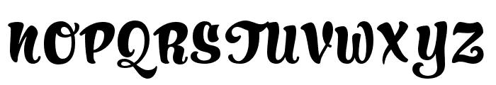 HucklebuckJF Regular Font UPPERCASE