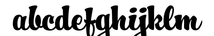 HucklebuckJF Regular Font LOWERCASE