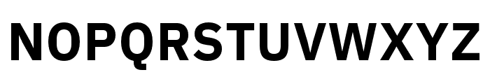 IBM Plex Arabic Bold Font UPPERCASE